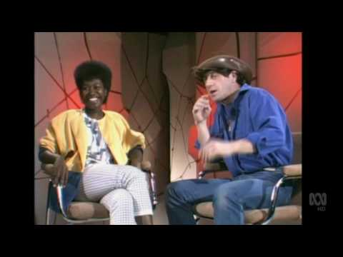 Countdown (Australia)- Molly Meldrum Interviews Joan Armatrading- August 28, 1983- Part 1