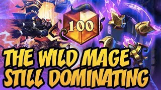 The Wild Mage Still Dominating | Rastakhan's Rumble | Hearthstone