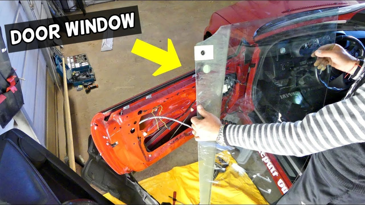 How To Remove And Replace Front Door Window On Bmw E46 Youtube