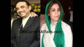 Asif Zardari Married