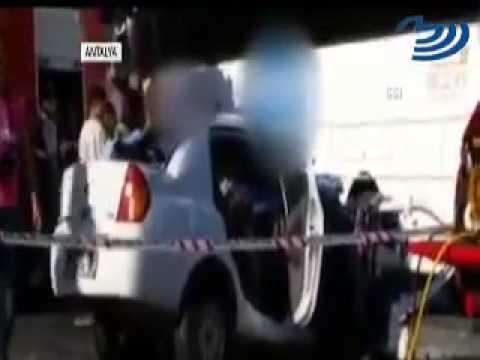Antalya'da katliam gibi kaza : 5 ölü