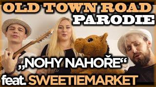Nohy NahoŘe Old Town Road Parodie | Jounas & Radkolf Feat. Sweetiemarket