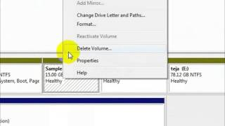 How to create a new drive in Windows7 || Create a new Partition