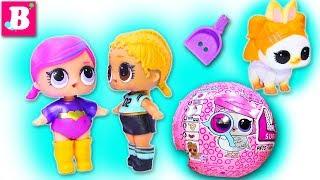 КОНКУРС ТАЛАНТОВ ДЛЯ ПИТОМЦЕВ ЛОЛ СЮРПРИЗ Куклы LOL Surprise в магазине! Видео для Детей с Игрушками