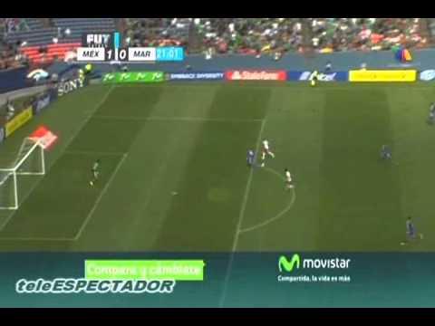 MEXICO vs MARTINICA -- Grupo A Copa Oro -- Julio 14, 2013 - YouTube