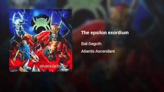 The epsilon exordium