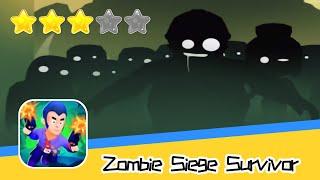 Zombie Siege : Survivor Walkthrough Recommend index three stars