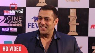 Salman Khan at Zee Cine Awards 2016   Viralbollywood Entertainment