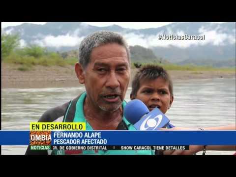 Por sequía, ríos Cauca y Magdalena se pueden cruzar a pie en algunas ciudades - 4 de enero de 2016