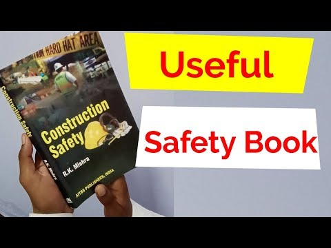 Construction Safety Book Review And Unboxing / Best Book For Safety Students