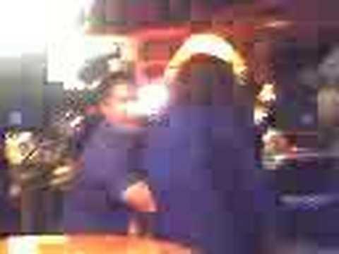 Infamous drunken Karoke