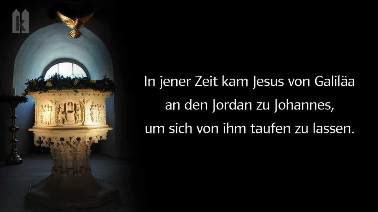 Taufe Des Herrn 2021