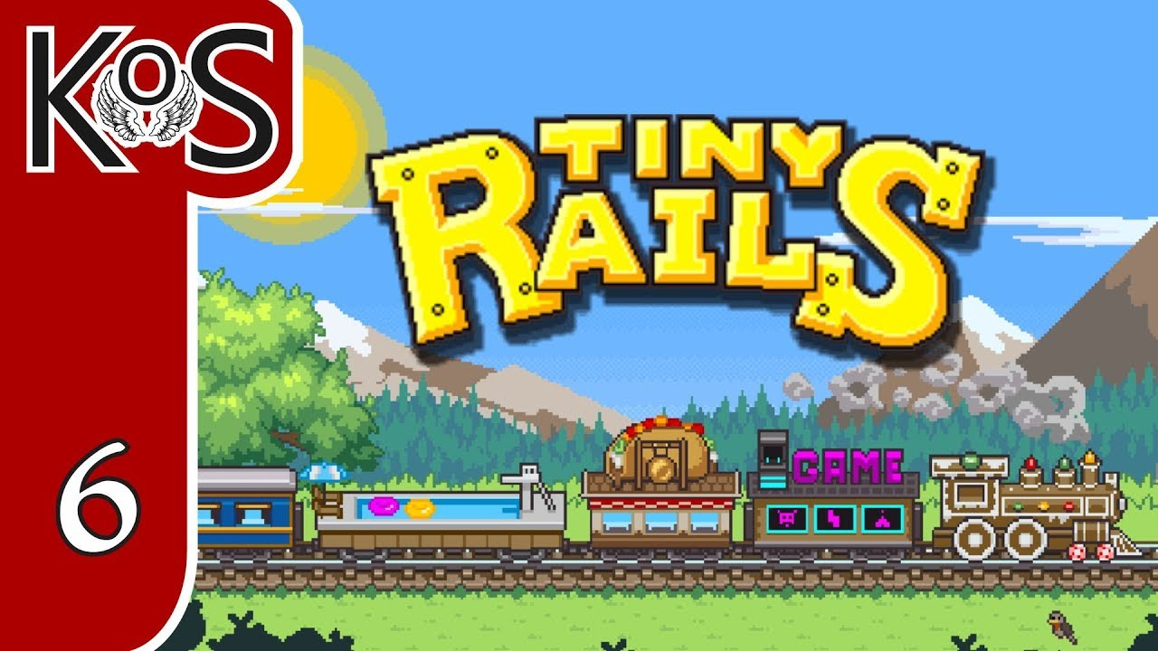 Tiny Rails Ep 6: CARGO STRATEGY - Early Access - First Look - Let's Play,  Gameplay