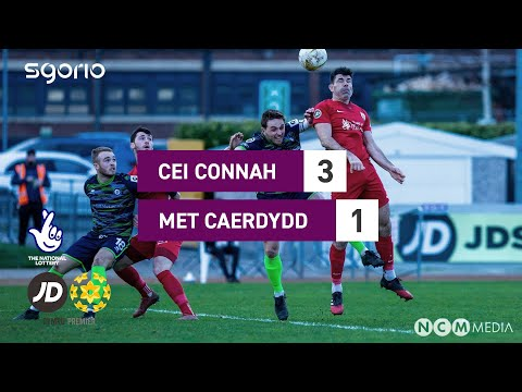 Connahs Q. Cardiff Metropolitan Goals And Highlights