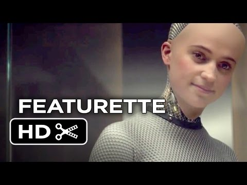 Ex Machina Featurette - The Making of Ava (2015) - Alicia Vikander, Domhall Gleeson Sci-Fi Movie HD