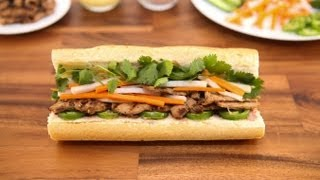 Grilled Pork Sandwich (banh Mi Thit Nuong)