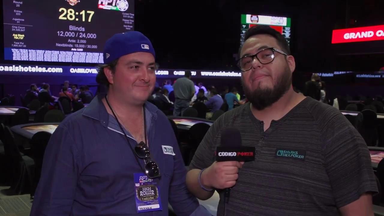 Red Poker Tour Día 2: Entrevista con Hernán González