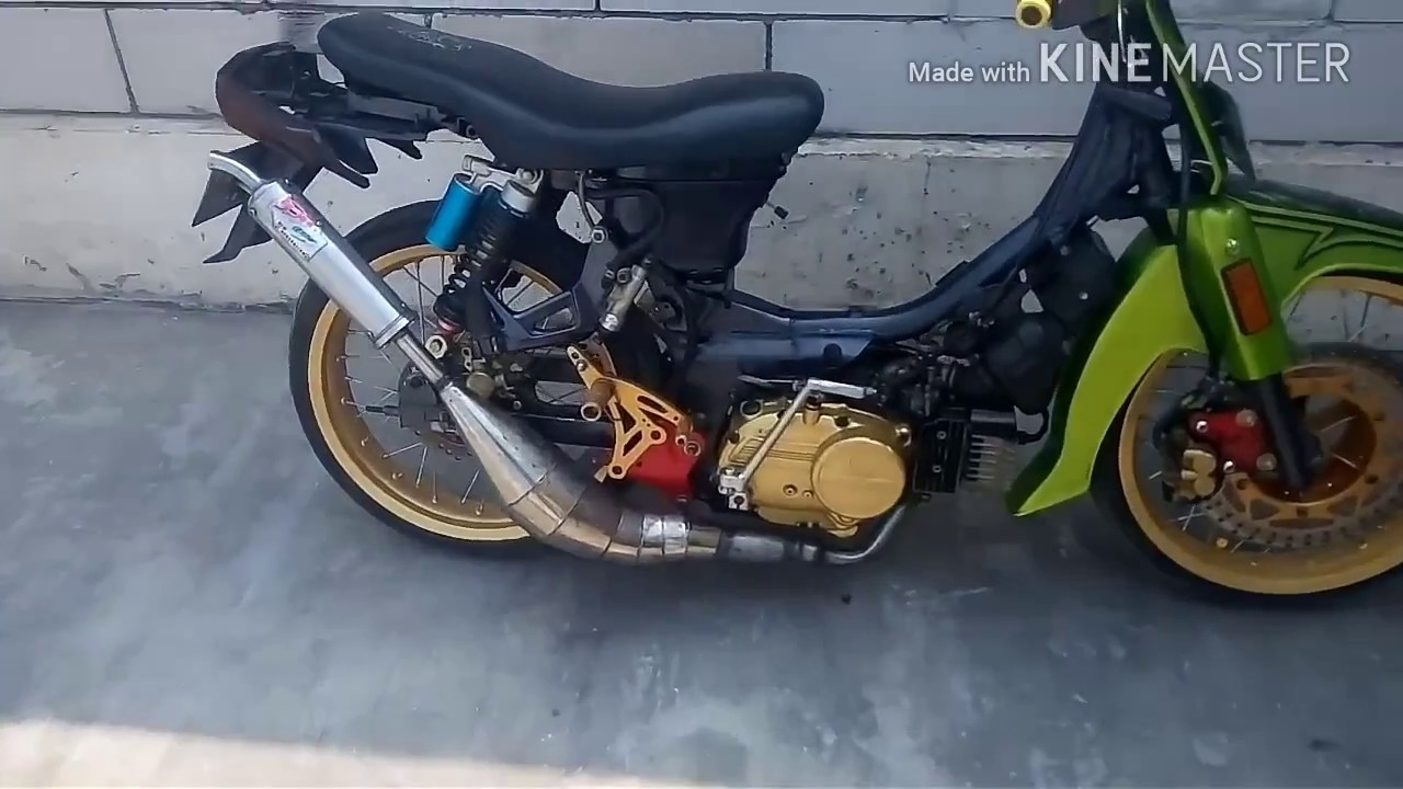 Suzuki Crystal Pakai Stang Plus Piston Satria 120r By Mdsengine Motor 120 R Start Part 1