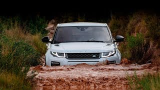 Test drive Range Rover, Nissan Terrano, Mitsubishi Pajero, Chevrolet Niva off road  4х4