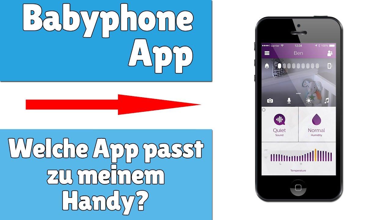 (Altes) Smartphone als Babyphone
