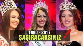 Gelmiş Geçmiş Miss Turkey Güzelleri Sizi Çok Şaşırtacak 1990   2017