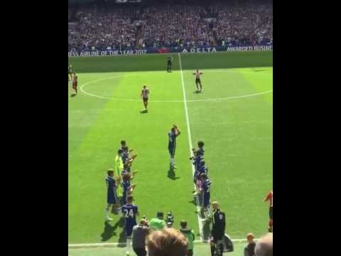 John Terry's Chelsea Farewell (Guard of Honour in the 26th Minute)