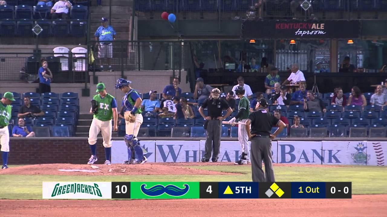 Lexington Legends Baseball vs. Augusta Greenjackets - Game 1 - YouTube