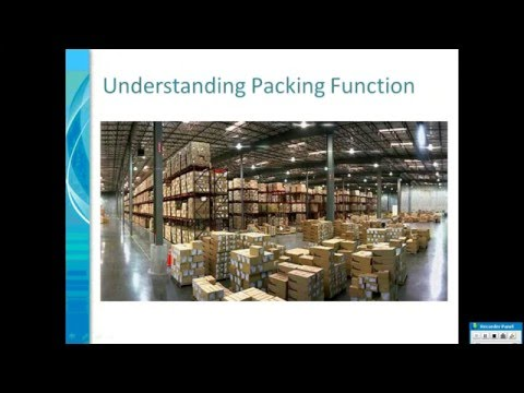 SAP Handling Unit Management Part 1 By Sridhar Kalepu