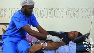 Trouble have start coming as quack doctor missing anamal blood to human blood - Chief Imo Comedy