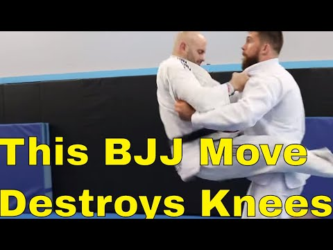 How To Block The Guard Jump in BJJ and Protect Your Knees