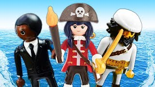 Игрушки для детей Супер 4. Акулья Борода превратил детей в рыб!