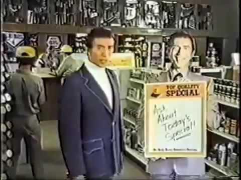 1976 NAPA Auto Parts Commercial featuring Joseph Campanella