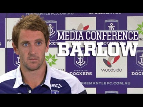 Michael Barlow media conference - 4 March 2015