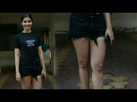 pooja hegde in short dress | Pooja Hegde hot photoshoot