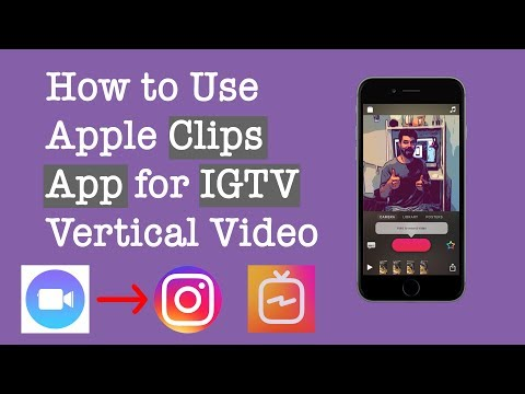 Make IGTV or Instagram Stories Using the Clips App