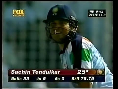 Sachin Tendulkar 141 Vs Australia 1998 Dhaka