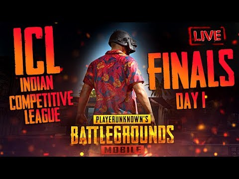 PUBG Mobile : ICL(Indian Competitive League) FINALS Day 2 | K18 *3min delay*