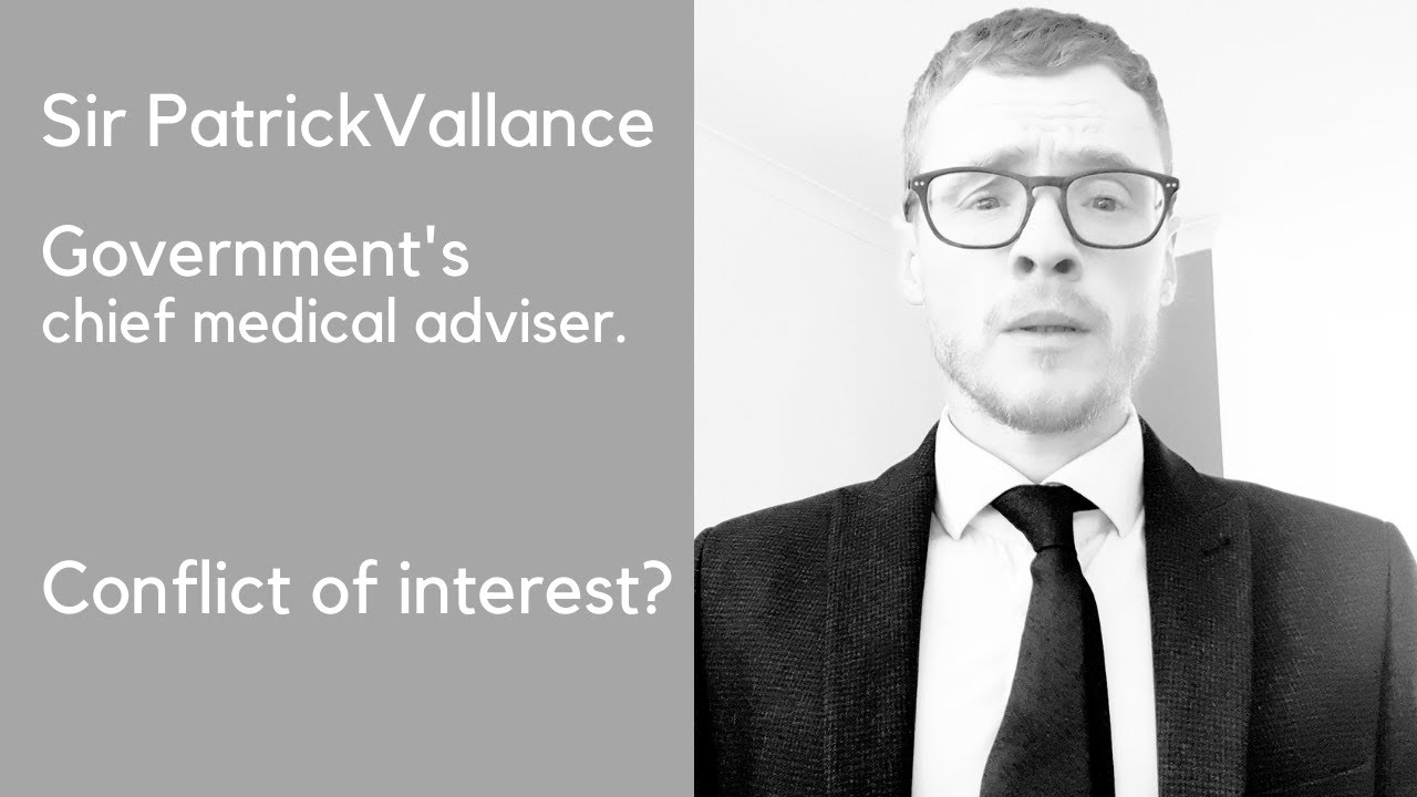 Statement from Government's chief scientific adviser, Sir Patrick Vallance.