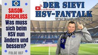 Saisonabschluss | Was muss sich beim HSV nun ändern und bessern? | #007