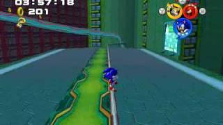 Sonic Heroes - Part 3: (Team Sonic)03~Grand Metropolis/Bonus 2