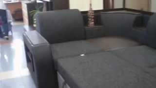 Классик 23 ДУ Диван угловой в разложенном виде(Купить Диван Классик 23 ДУ от фабрики АСМ Классик в гипермаркете мебели EKAHOUSE http://ekahouse.ru/products/klassik-23-du-uglovoi-divan-tr..., 2011-09-06T11:27:47.000Z)