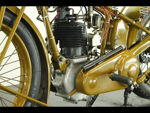 Motosacoche Model 413 Tourisme 1930 500cc - start up