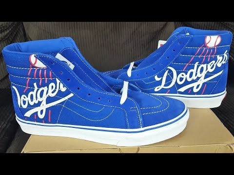 1bd4f69e59c Vans Are Timeless Sneakers! Vans x MLB Los Angeles Dodgers SK8-Hi Reissue  Review!