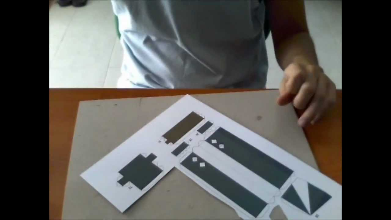 Papercraft TUTORIAL - Come realizzare un Papercraft (Zack di Final Fantasy VII)