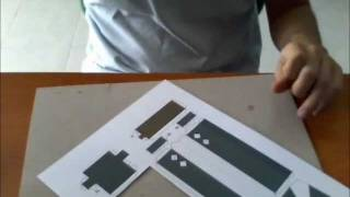 TUTORIAL - Come realizzare un Papercraft (Zack di Final Fantasy VII)