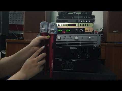 Miccro BOSE BS 777 II Không dây karaoke, giá 1tr150, BH:06 tháng,  01653925290