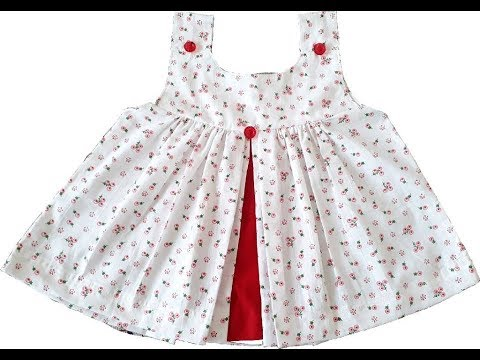 ced700e27 Baby frock cutting and stitching in hindi. - YouTube