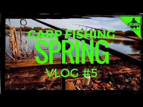 CARP FISHING IN SPRING - FISHING THE ALIEN LAKE - VLOG #5 😀