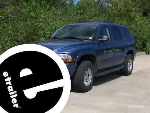 Etrailer | Trailer Wiring Harness Installation - 2003 Dodge Durango