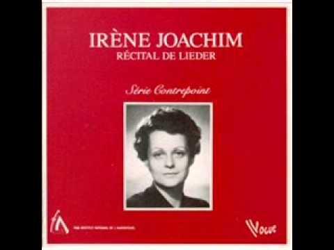 "Irene Joachim, ""Ils pleure dans mon coeur,"" Debussy"